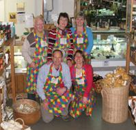 Our team at Purely Cornish, East Looe